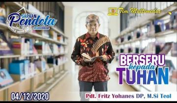Embedded thumbnail for Sapaan Pendeta tgl. 4 Des 2020