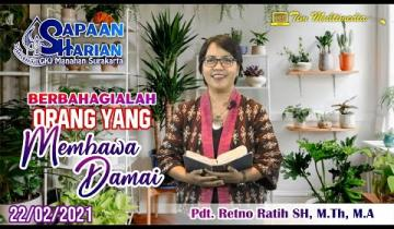 Embedded thumbnail for Sapaan Pendeta tgl. 22 Feb 2021