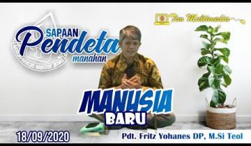 Embedded thumbnail for Sapaan Pendeta tgl. 18 September 2020