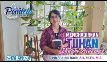 Embedded thumbnail for Sapaan Pendeta tgl. 29 Oktober 2020
