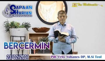 Embedded thumbnail for Sapaan Pendeta tgl. 23 Feb 2021