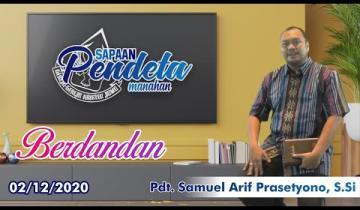 Embedded thumbnail for Sapaan Pendeta tgl. 2 Desember 2020