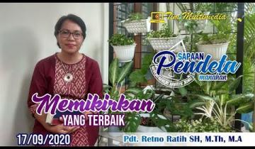 Embedded thumbnail for Sapaan Pendeta tgl. 17 September 2020